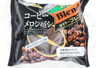 ダイドーブレンド コーヒーメロンパン