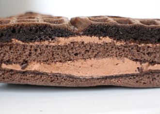 俺のワッフルケーキ(ビターチョコ)