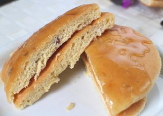 全粒粉入りのパンケーキ