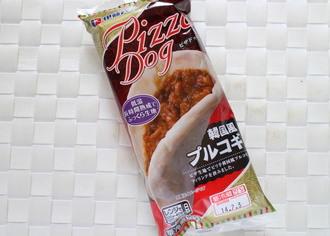 ピザドッグ 韓国風プルコギ