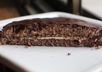 チョコケーキ ザッハトルテ風