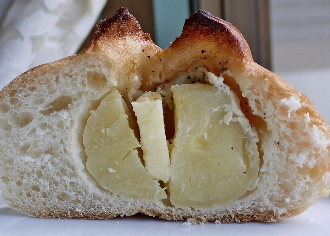 じゃがバターフランス