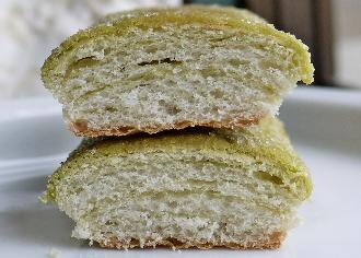 スティックメロンパン 宇治抹茶
