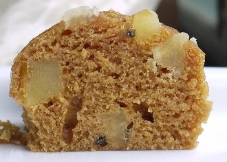 角ぎりお芋の黒糖芋蒸しパン