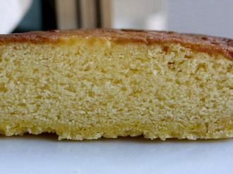 鳴門金時スイートポテトケーキをのせたタルト