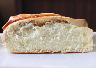 牛乳と黒糖のちぎりパン