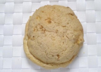 くるみとキャラメルのメロンパン