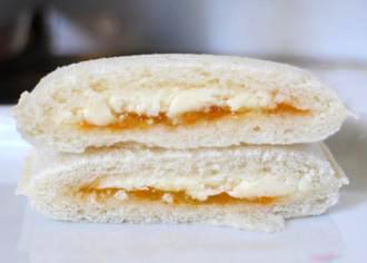 みかんジャム& レアチーズ風味ホイップ