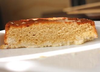 ティラミスケーキをのせたタルト