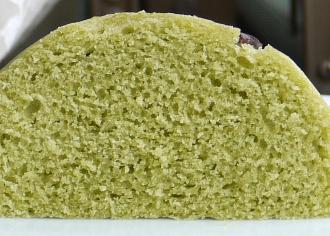 宇治抹茶蒸しパン