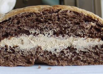 マロンショコラメロンパン