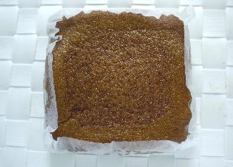 米粉入り蒸しパン黒糖風味