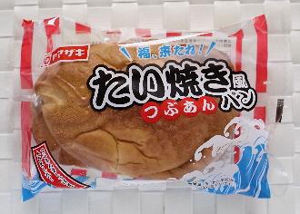 たい焼き風つぶあんパン