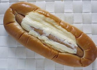 パリリッとチーズフォンデュ風ドッグ