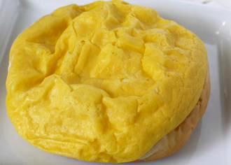 地養卵シューカスタード& ホイップ