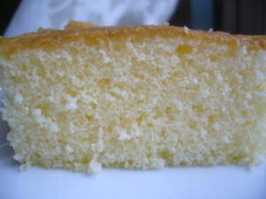 ふっくらたまごのケーキ