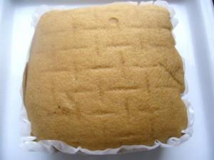ミルクキャラメル蒸しケーキ